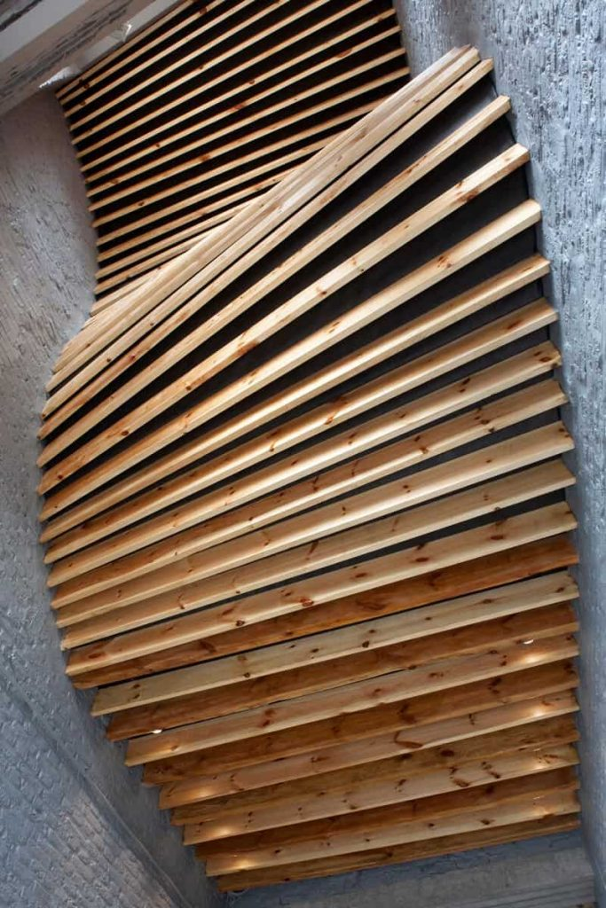 SKYLIGHT IN WOOD FOR A CAR PARK - © Maxime Delvaux Photographer